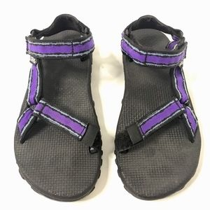 TEVA Sport Sandals Hiking Athletic Strappy Purple